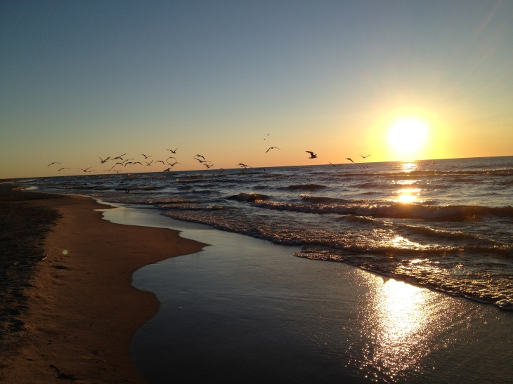 Lake Michigan-Terry Andre Beach / Sunrise June 25, 2012