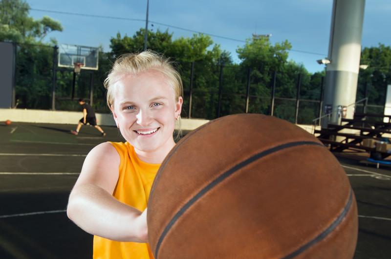 Basketball-Transgender Intersex Teen Athlete-