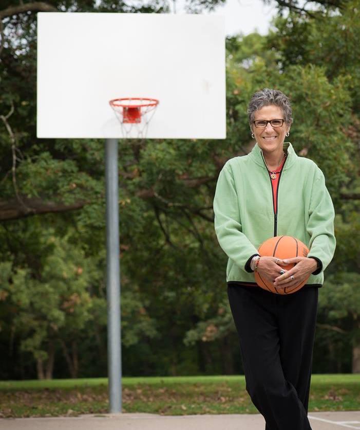 Author Double Exposure Holding Basketball