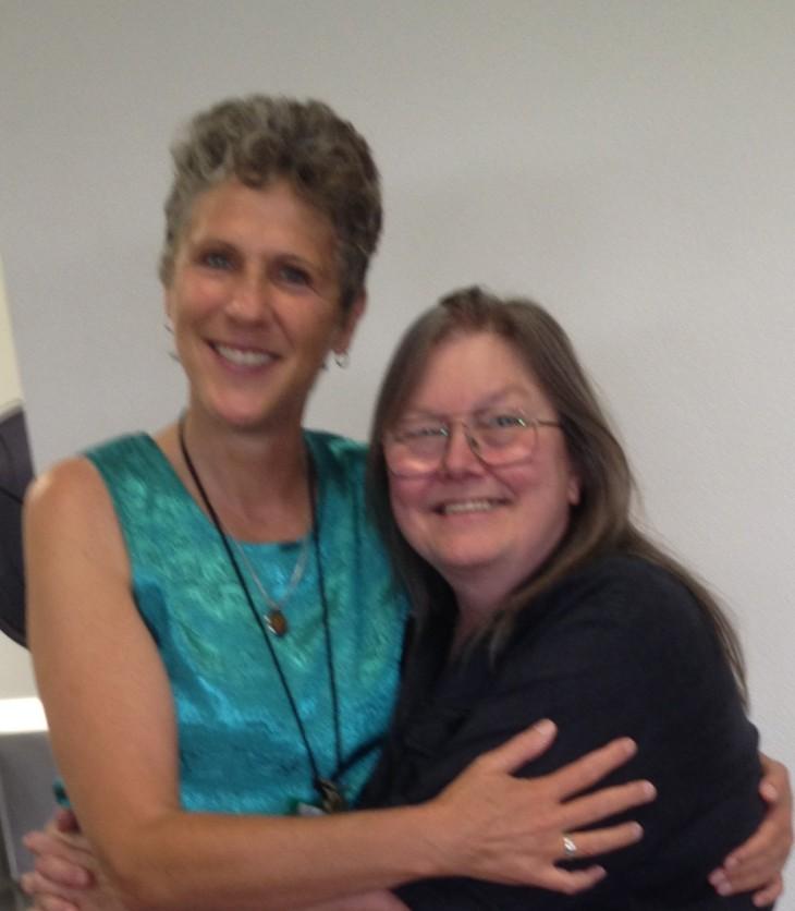 Authors Bridget Birdsall & Dorothy Allison
